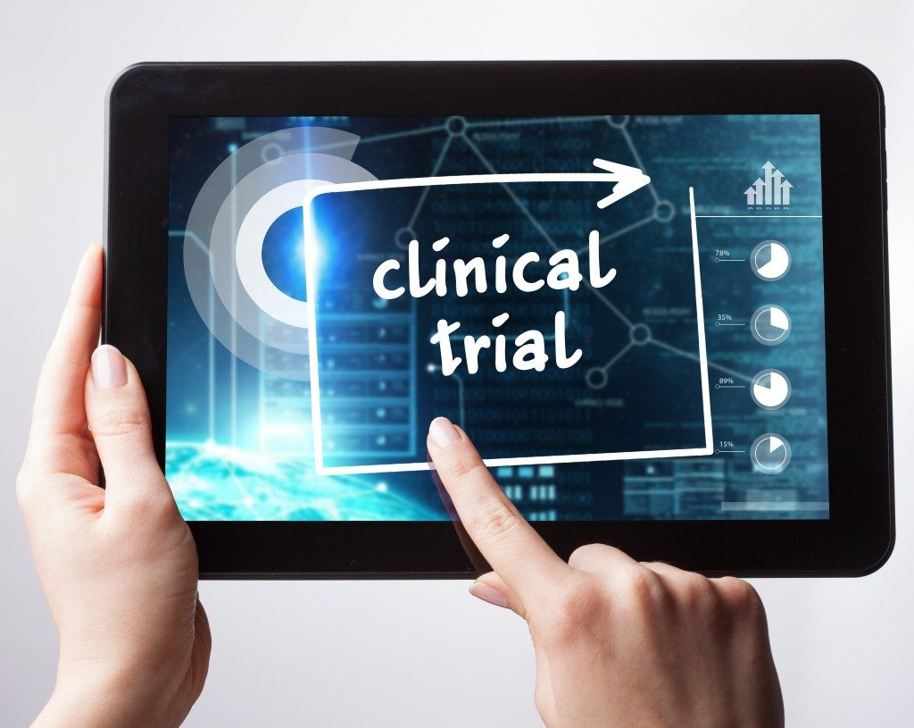 Finger pointing clinical trial