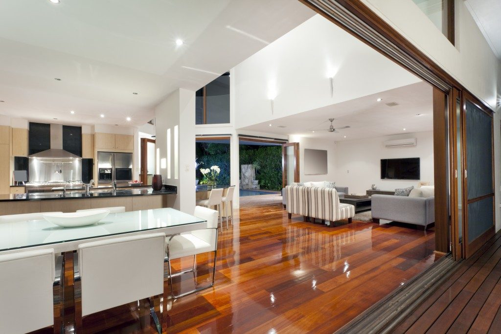 Interior design of a house
