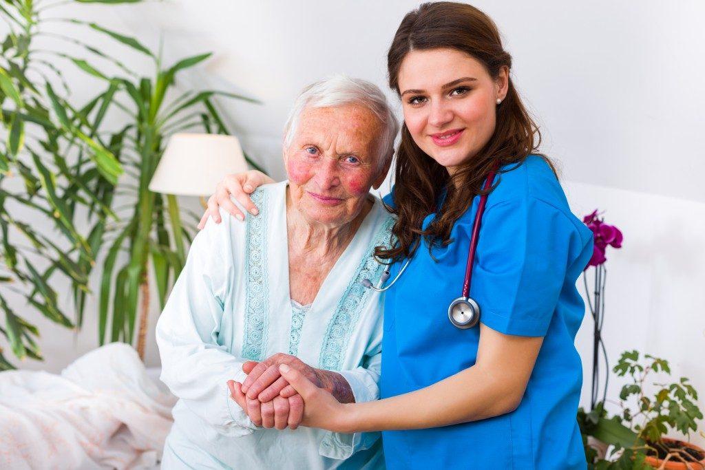 assisting a senior