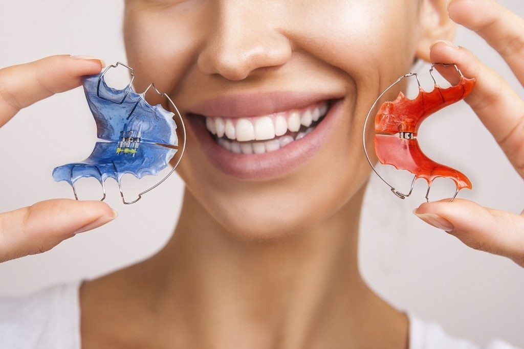 set of retainers