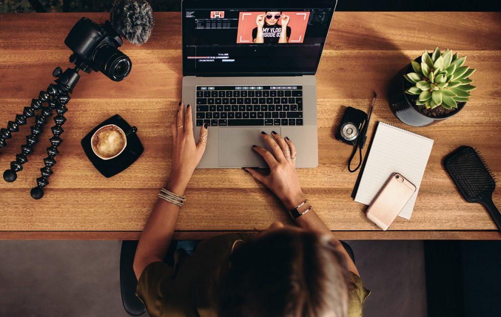 blogger editing video