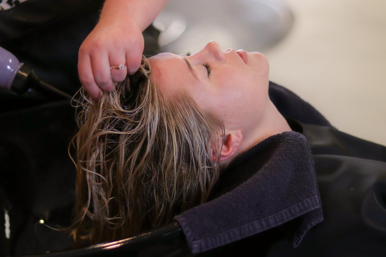 woman at a salon