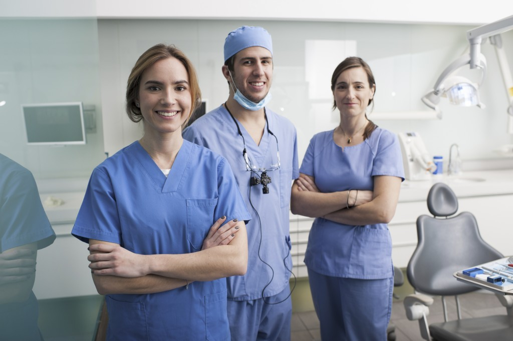 Team of dentists