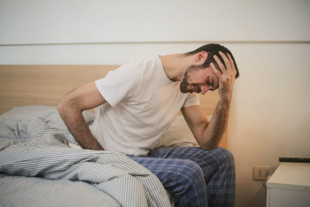 experiencing stomach pain