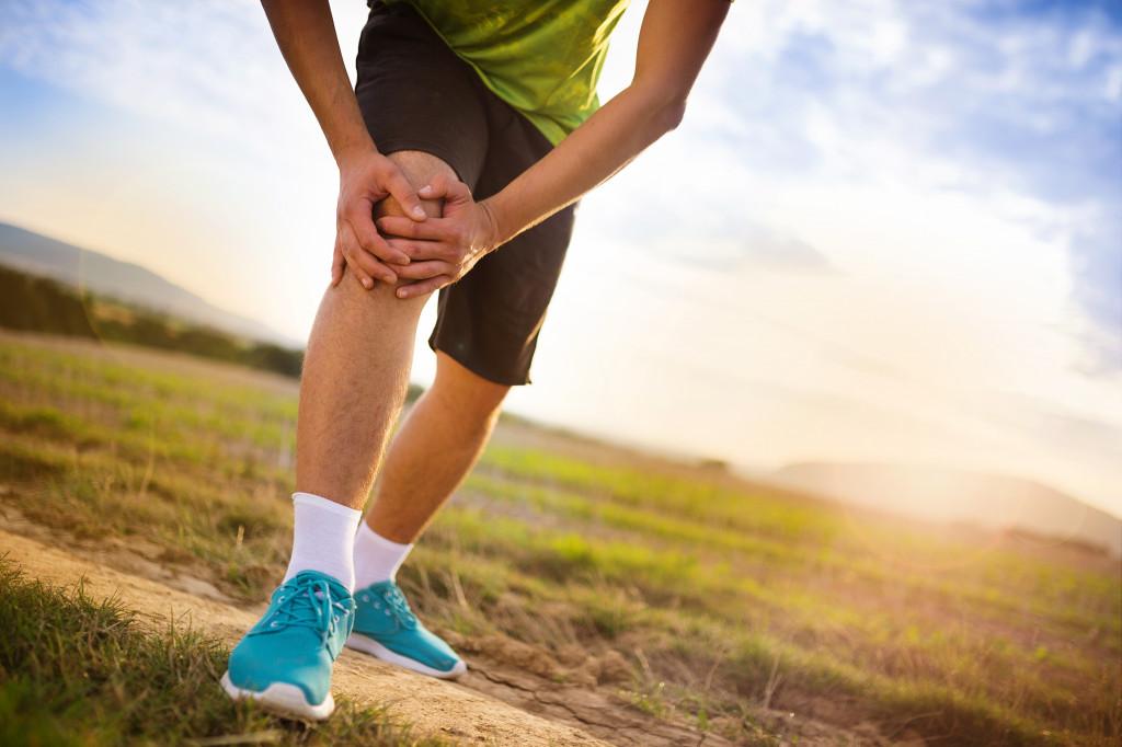 leg pain concept